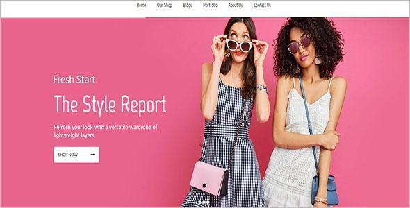 Impressive Fashion WordPress Theme