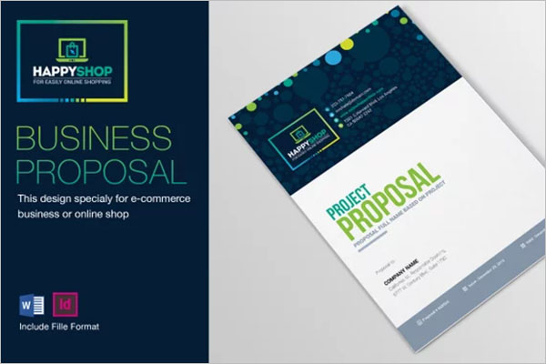 Indesign Business Report Template