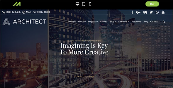 Interior Design & Architect WordPress Theme