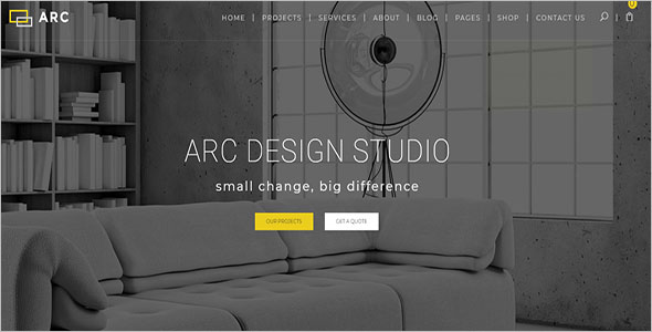 Interior Design Architecture WordPress Theme