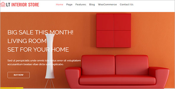 Interior Store WordPress Theme