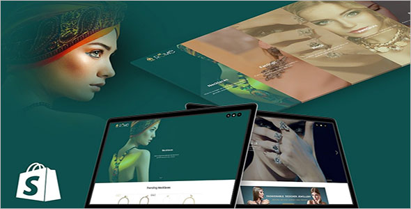 Jewelry Shopify Website Theme