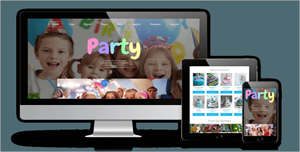 Kids Store Website E-commerce Theme