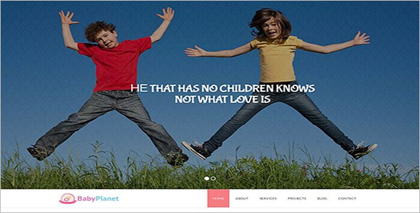Kids Training HTML Theme