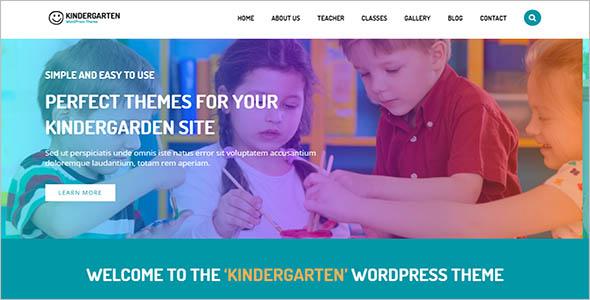Kindergarten School WordPress Theme