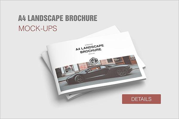 Landscape Brochure Templates Free