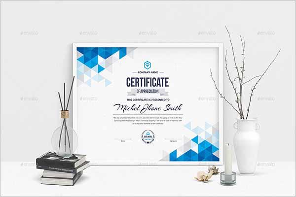 LandscapeCertificate Design