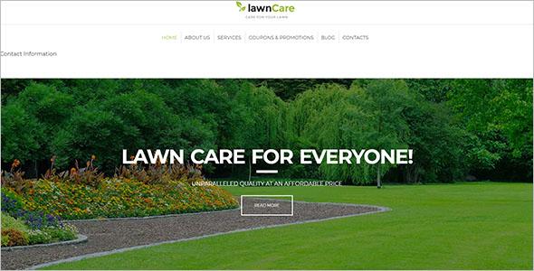 Landscaping WordPress Theme Free