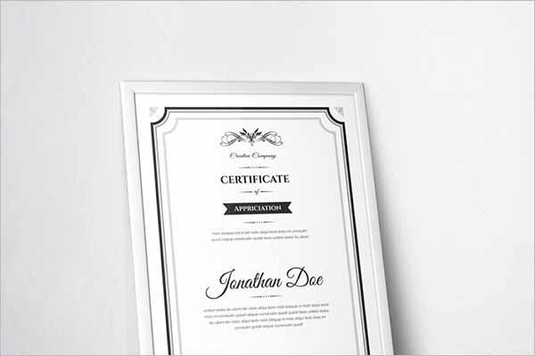Latest Creative Certificate Templates