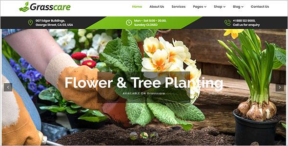 Lawn Care WordPress Theme