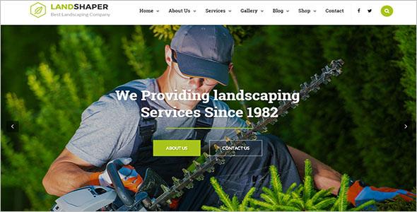 Lawn Maintenance Website Template