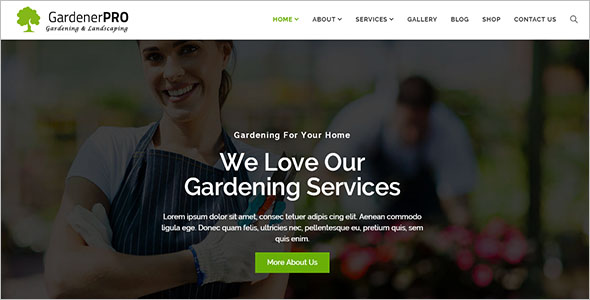 Lawn WordPress Theme Ideas