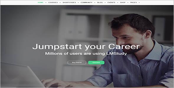 Library Database Website Theme