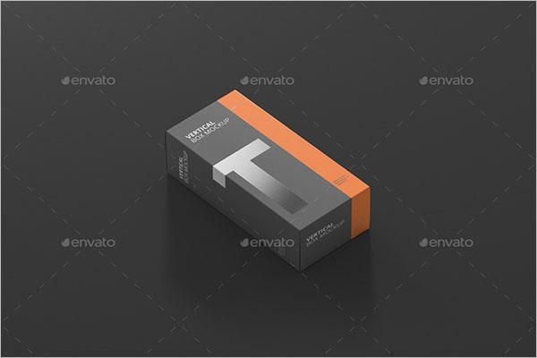 Long Box MockUp Free Dow nload