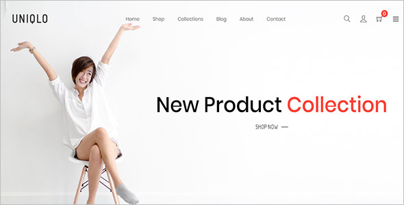 Minimal eCommerce Shopify Theme