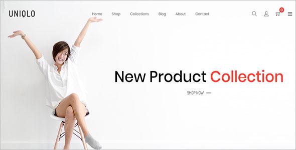 Minimal eCommerce Shopify Theme