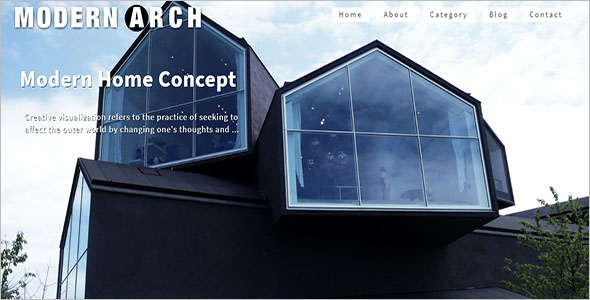 Modern Architecture Responsive Theme