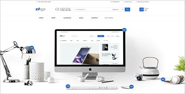 Modern Electronics Store Woocommerce Website