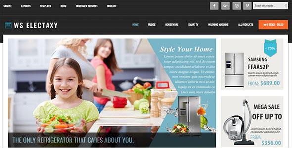 Multi Device Electronics Store Woocommerce Theme