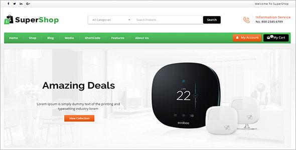 Multi Purpose Store WooCommerce Theme