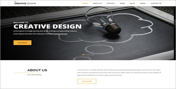 Multipurpose Blog Design Template