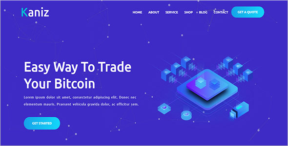 Multipurpose Cryptocurrency HTML Template