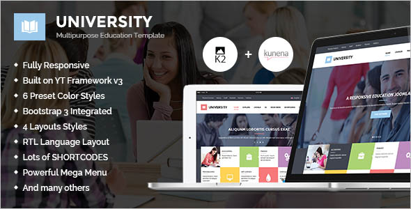 Multipurpose Education Template