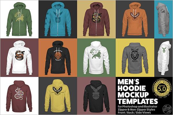 New Model Hoodie Templates