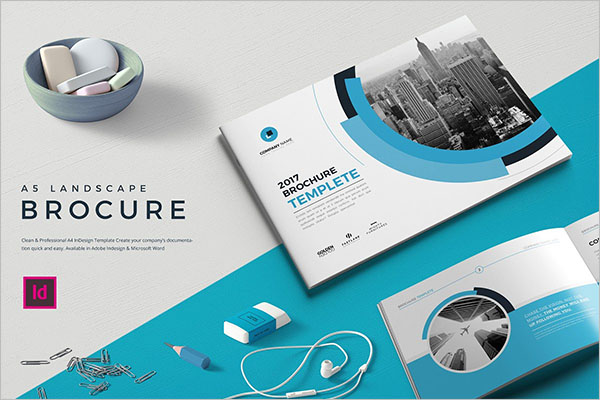 New landscape brochure design