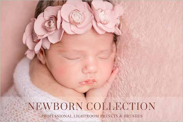 Newborn Lightroom Preset
