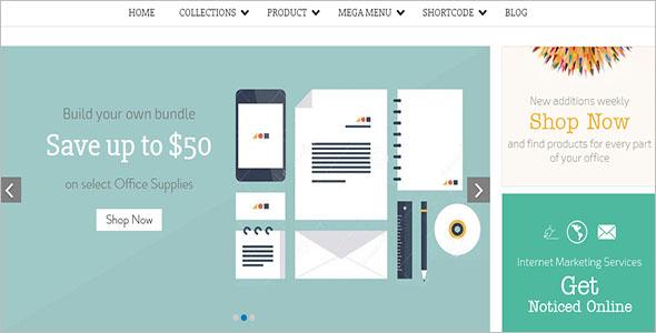 Office Shopify WordPress Theme
