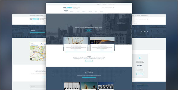 OneBuilding HTML Template