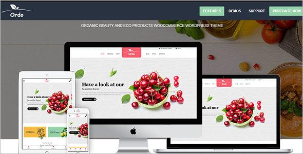 Organic Beauty Products WooCommerce Theme