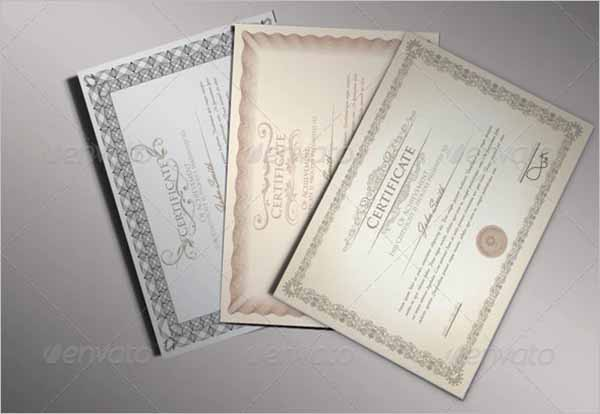 Pack Of Certificate Design