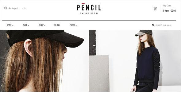 Pencil Shopify Ecommerce Theme