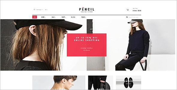 Pencil Shopify Website Theme