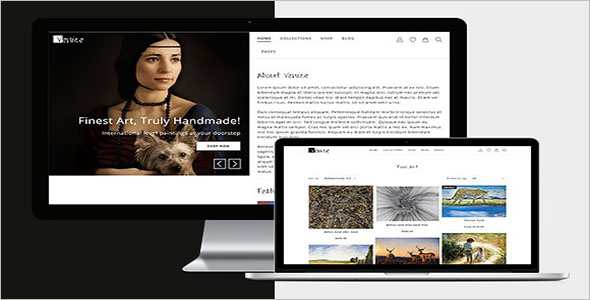 Photo Shopify Website Theme