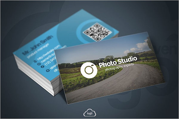 Photo Studio Environment Business Card