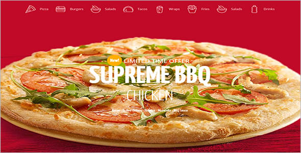 Pizza Restaurant Woocommerce Theme