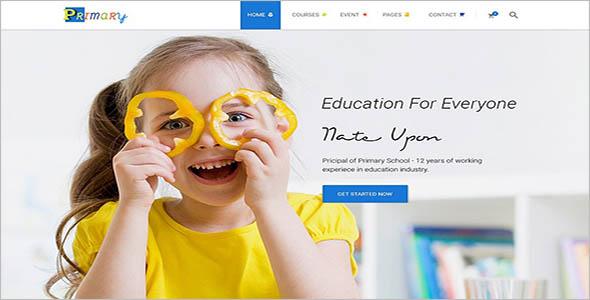 Play School WordPress Theme