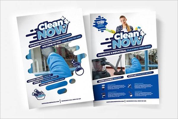 Portfolio Cleaning Company Brochure