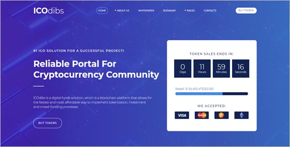 Premium Cryptocurrency Html Template