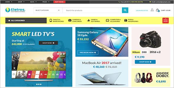 Premium Electronics Store WooCommerce Theme