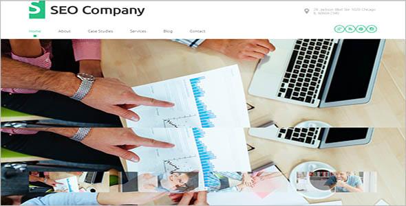 Premium Seo Company WordPress Theme