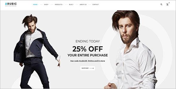 Premium Shopify Website Theme