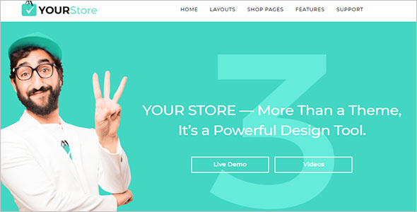 Premium Shopify ecommerce Theme