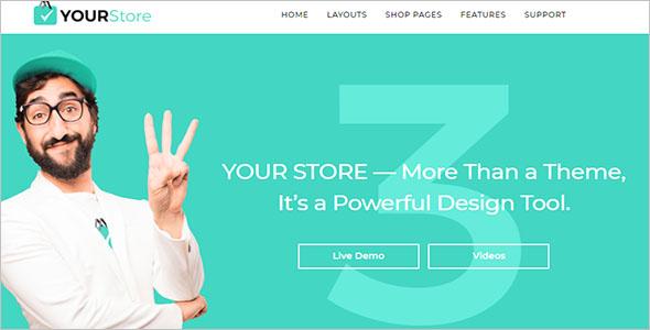 Premium Shopify ecommerce Theme