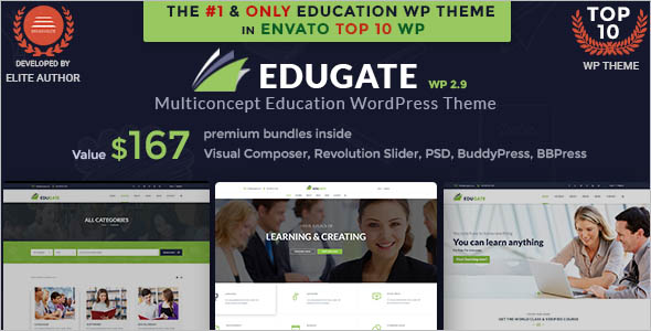 Primary College Website Template