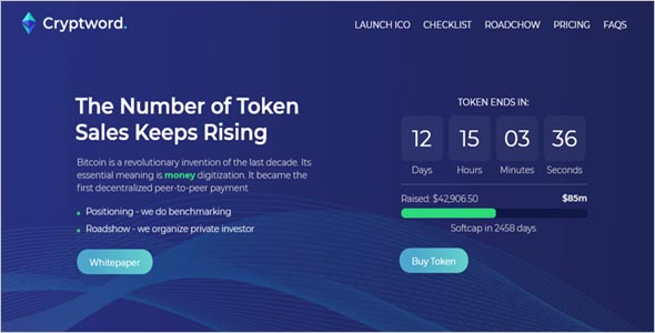 Primary Cryptocurrency Html Template
