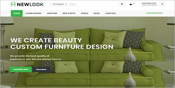 Professional Furniture Html Template